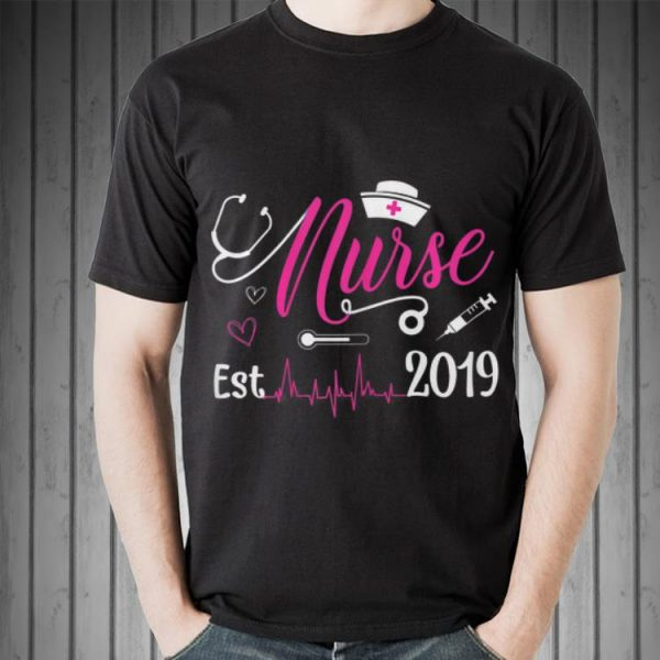 New Nurse Est 2019 shirt