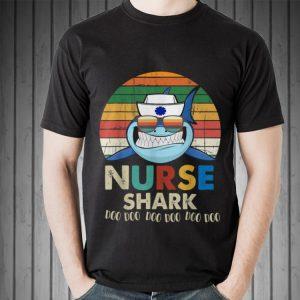 Retro Vintage Nurse Shark Doo Doo Doo shirt