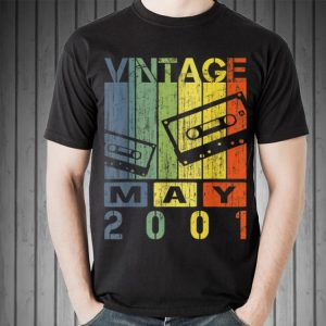 Vintage Retro May 2001 Cassette shirt