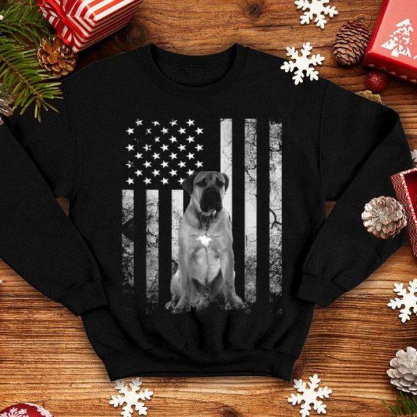 4th of July America Boerboel Dog Flag Patriotic shirt