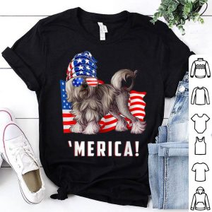 4th of July Lowchen Dog Merica shirt