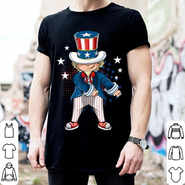 4th of July Uncle Sam USA Floss Dance shirt