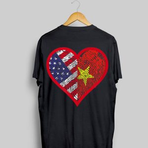 America And Vietnam Two Countries One Heart shirt