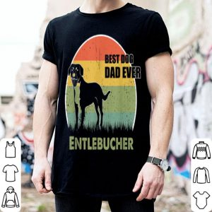 Best Dog Dad Ever Entlebucher Father Day 2019 shirt