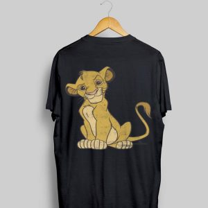 Disney Lion King Distressed Simba Smirk shirt