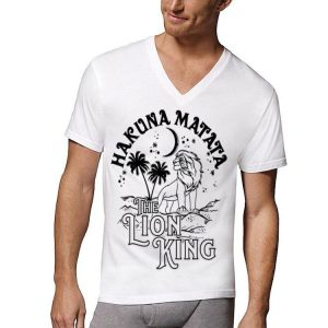 Disney Lion King Hakuna Matata Simba In Desert Graphic shirt