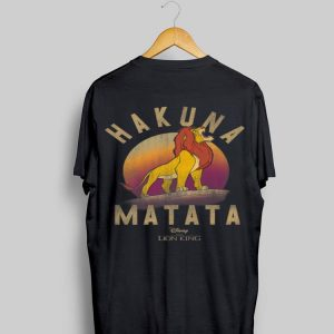 Disney Lion King Simba Pride Rock Roar shirt