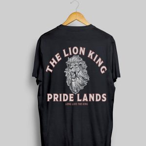 Disney Lion King Vintage Simba Long Live The King Quote shirt