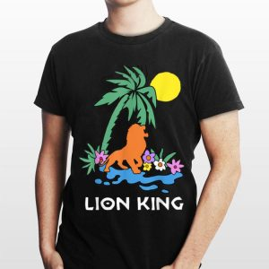 Disney The Lion King Simba Spring Palm Tree shirt