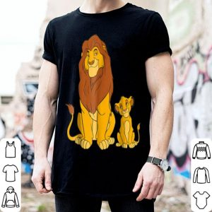 Disney The Lion King Young Simba and Mufasa shirt