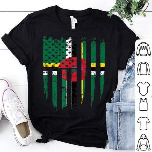 Dominica America Flag shirt