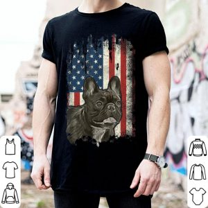French Bulldog American Flag Usa Patriotic Dog Lover shirt