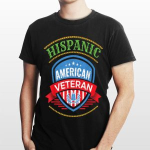 Hispanic American Veteran shirt