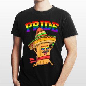 LGBT Tamales Gay Pride Rainbow LGBTQ Mexican shirt