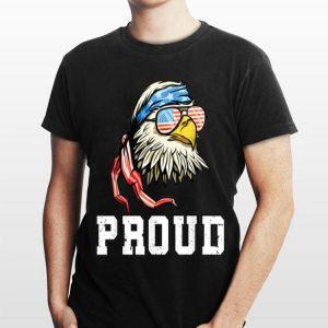 Love Usa Flag 4th Of July Proud Bald Eagle shirt