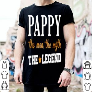 Pappy The Man The Myth The Legend Star Father Day shirt