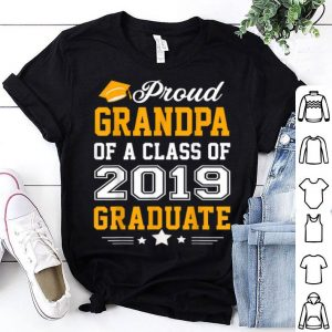 Proud Grandpa of a Class of 2019 Graduate Father Day shirt