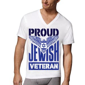 Proud Jewish Veteran shirt