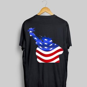 Statue of Liberty American Flag 4th of July shirt