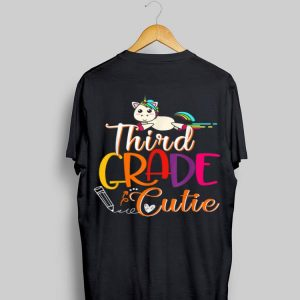 3rd Grade Cutie First Day Of School Kids Gif shirt
