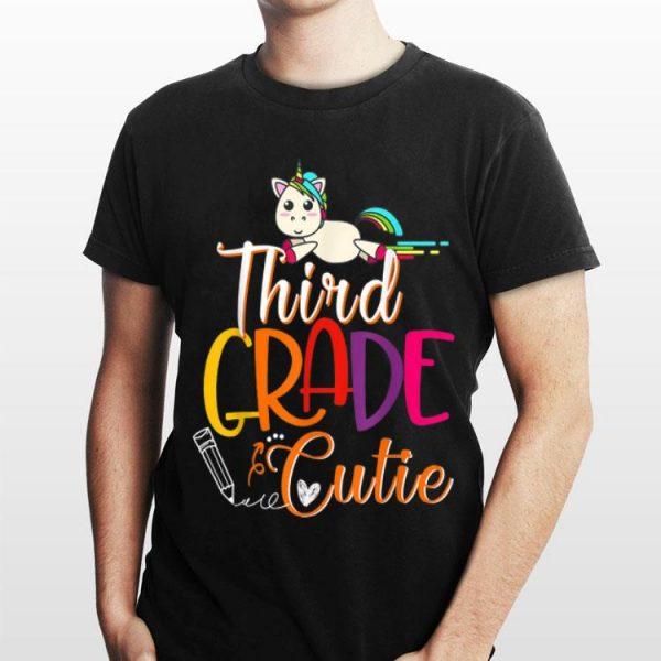 3rd Grade Cutie First Day Of School Kids Gif shirt