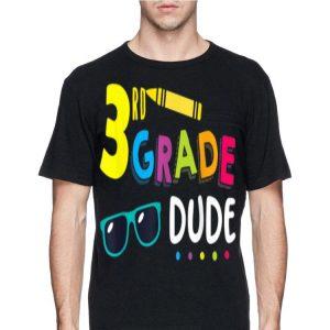 3rd Grade Dude Student Teacher First Day Toddler shirt