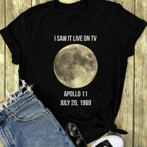 50th Anniversary Apollo 11 I Saw It Live On Tv long sleeve