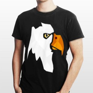 American Bald Eagle Day Face For Men And Kids shirt