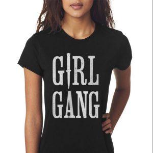 Awesome Knife Girl Gang shirt 2