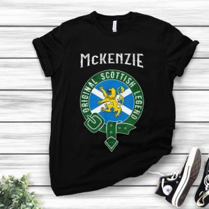 Awesome McKenzie Clan Scottish Legend Scotland Flag Belt shirt