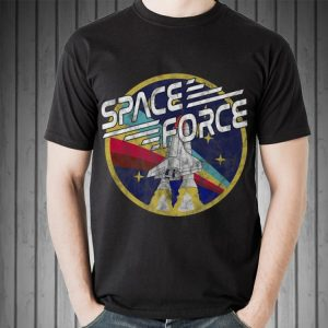 Awesome Space Force Rainbow Logo shirt