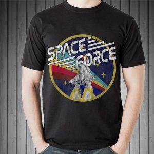 Awesome Space Force Rainbow Logo shirt