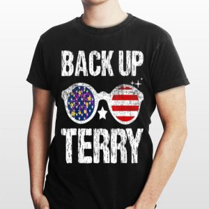 Back Up Terry American Flag Usa 4Th Of July Sunglasses shirt