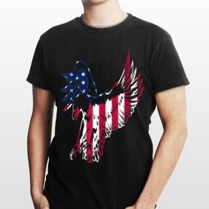 Bald Eagle 4Th Of July American Flag Glasses shirt