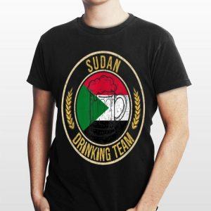 Beer Sudan Drinking Team Casual shirt