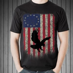 Betsy Ross Flag Eagle Independence Day Of American Sweater