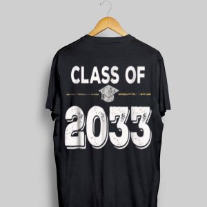 Class Of 2033 First Day Of School Grow With Me shirt