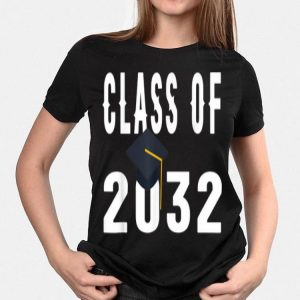Class of 2032 Grow With Me First Day of School shirt