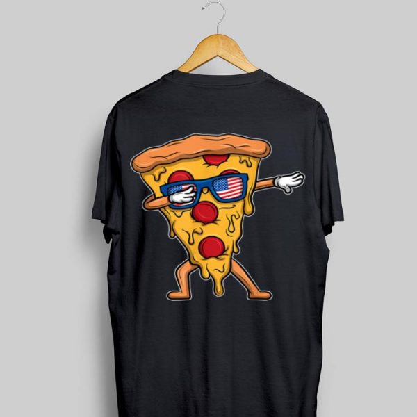 Dabbing Salami Pizza 4Th Of July America Usa shirt