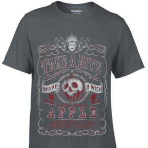 Disney Snow White Evil Queen Take A Bitite Make A Wish A Magic Wishing Apple Sweater