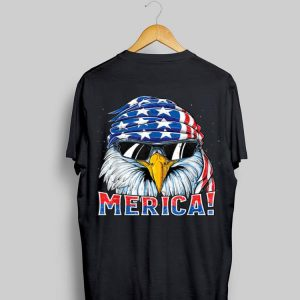 Eagle Merica 4Th Of July Merica Men Boys American shirt