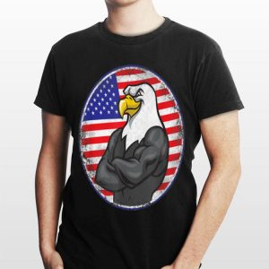 Eagle Mullet 4Th Of July American Flag Merica Independence Day shirt