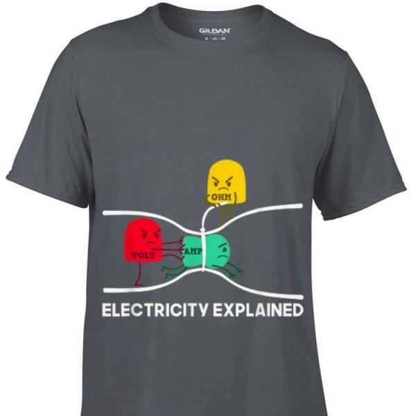 Electricity Explained Volt Amp Ohm sweater