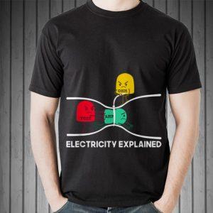 Electricity Explained Volt Amp Ohm sweater 1
