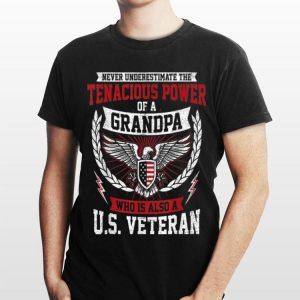 Grandpa US Army Veteran Birthday Christmas Fathers Day shirt