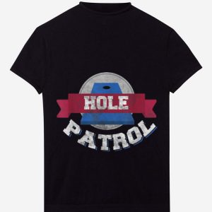 Hole Patrol Cornhole Bean Bag Toss hoodie 1