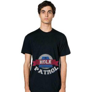 Hole Patrol Cornhole Bean Bag Toss hoodie 2