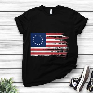 Independence Day 4th Of July Patriotic Betsy Ross Battle Flag 13 Colonies hoodie