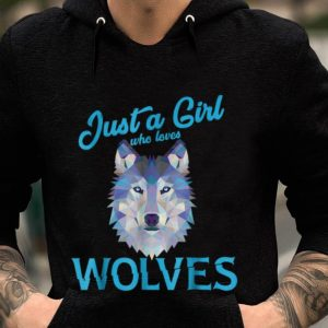 Just A Girl Who Live Wolves sweater