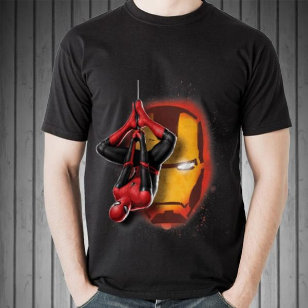 Marvel Spider-Man New Suit Far From Home Iron Man Head Sweater